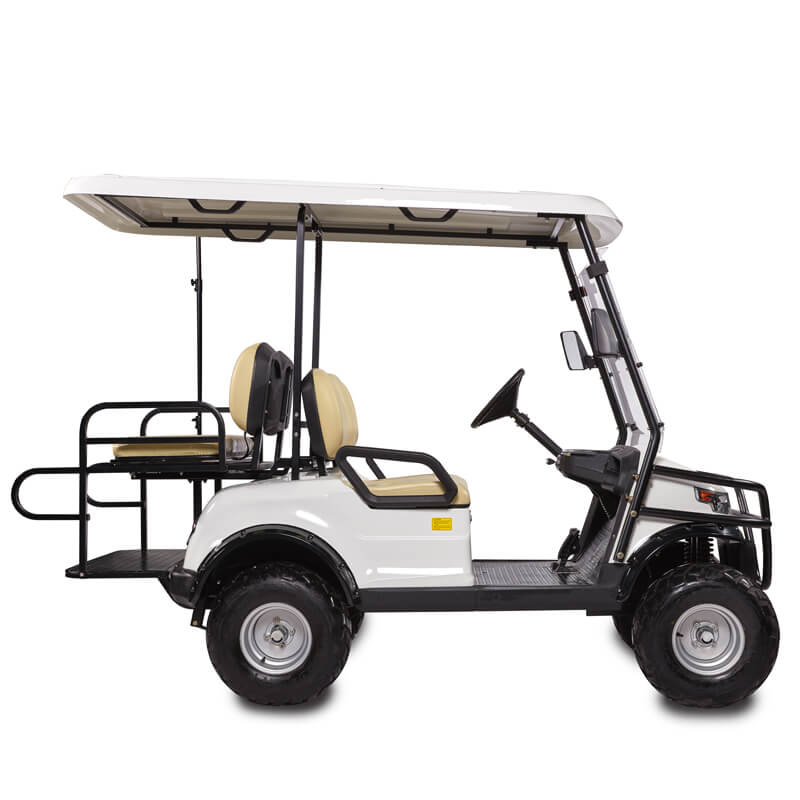 DDH-C2 + 2 PRO SHUTTLE 4-Seater Electric Commercial Cart3