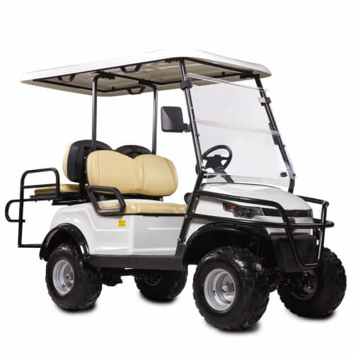 DDH-C2 + 2 PRO SHUTTLE 4-Seater Electric Commercial Cart4