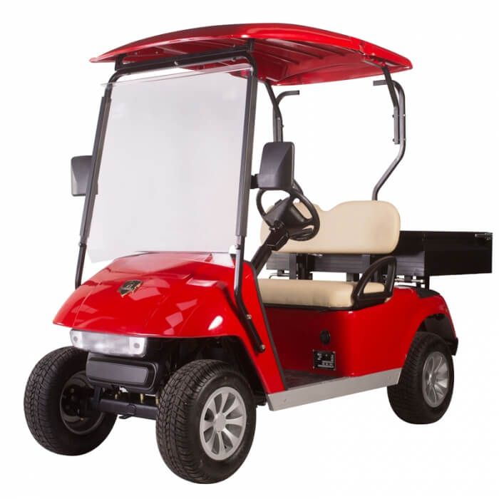 DG-C2 Utility 2-Seater Electric Utility Cart with Cargo Box1