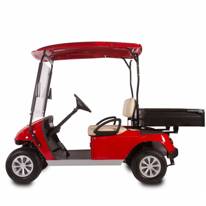 DG-C2 Utility 2-Seater Electric Utility Cart with Cargo Box2