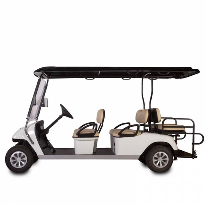 DG-C4 + 2 SHUTTLE 6-Seater Electric Commercial Cart1