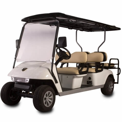 DG-C4 + 2 SHUTTLE 6-Seater Electric Commercial Cart2