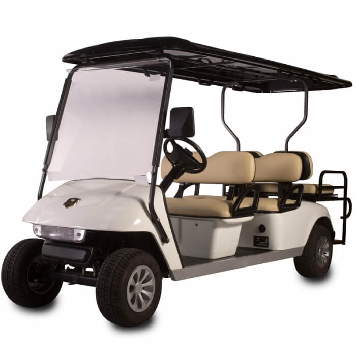 DG-C4 + 2 SHUTTLE 6-Seater Electric Commercial Cart2