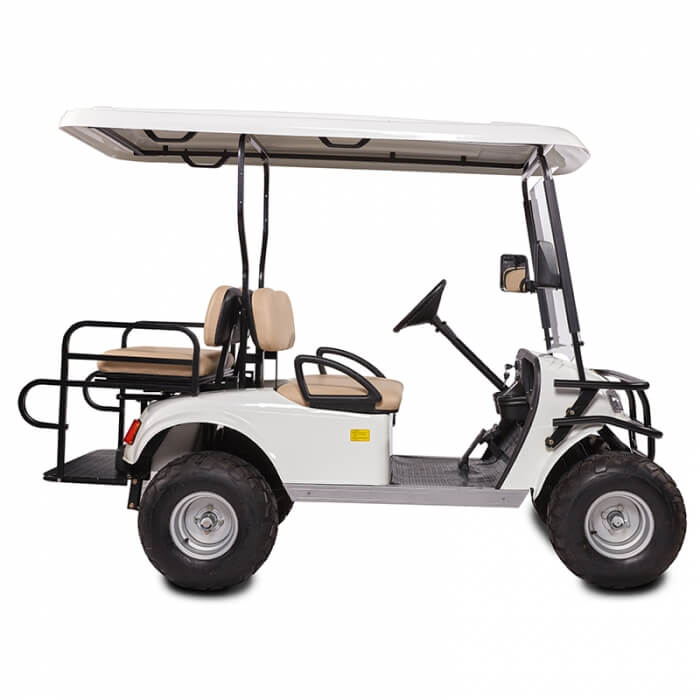 DH-C2 + 2 SHUTTLE 4-Seater Electric Commercial Cart1