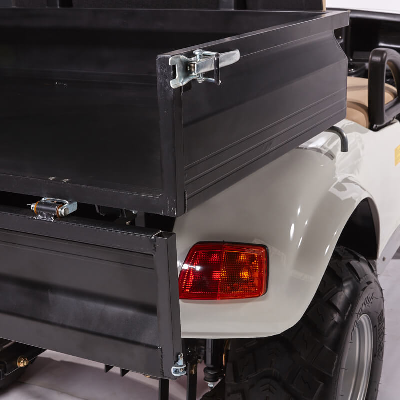 DH-C2 UTILITY 2-Seater Electric Utility Cart with Cargo Box2