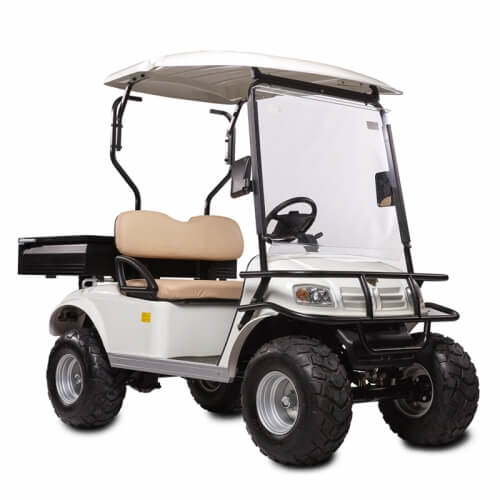 DH-C2 UTILITY 2-Seater Electric Utility Cart with Cargo Box3