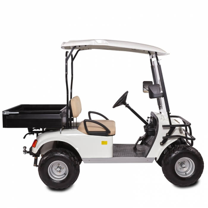 DH-C2 UTILITY 2-Seater Electric Utility Cart with Cargo Box5