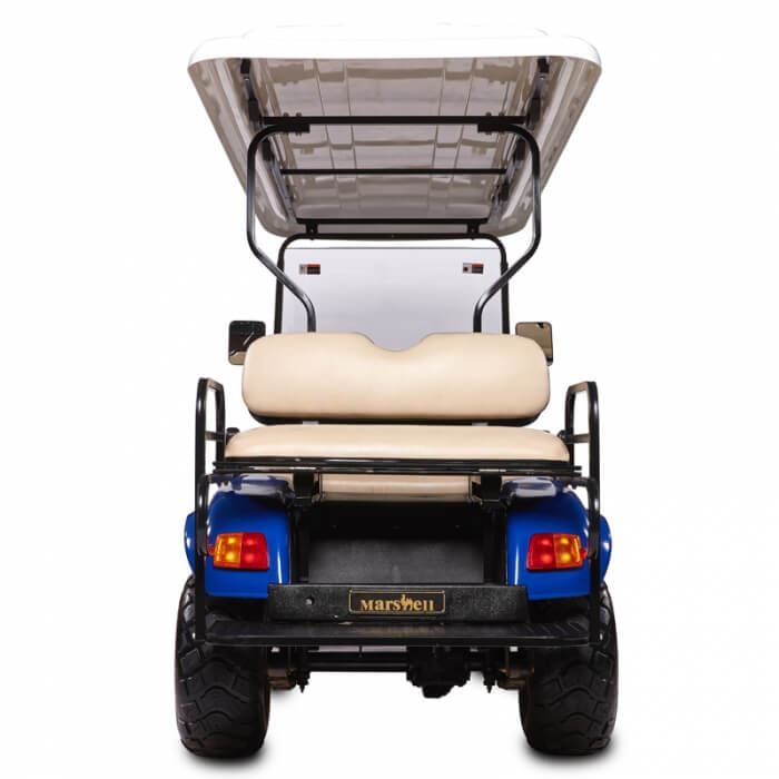 DH-C4 + 2 SHUTTLE 6-Seater Electric all terrain commercial cart1