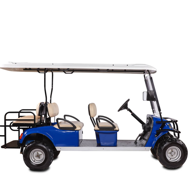 DH-C4 + 2 SHUTTLE 6-Seater Electric all terrain commercial cart3