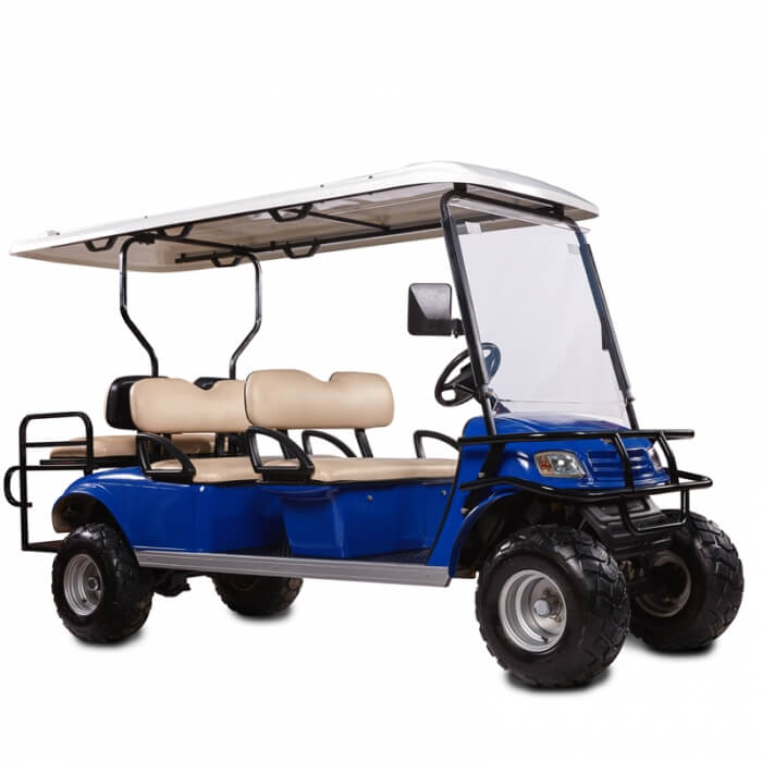 DH-C4 + 2 SHUTTLE 6-Seater Electric all terrain commercial cart4