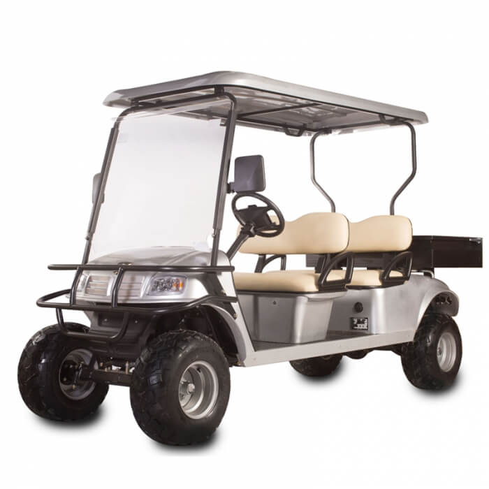DH-C4 UTILITY 4-Seater Electric Utility Cart with Cargo Box1