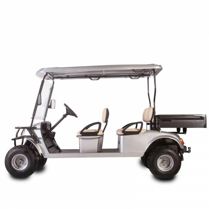 DH-C4 UTILITY 4-Seater Electric Utility Cart with Cargo Box2
