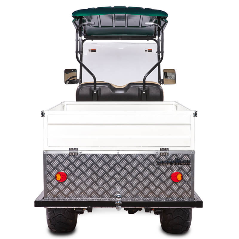 DH FLATBED 2-Seater Flatbed Utility Cart1