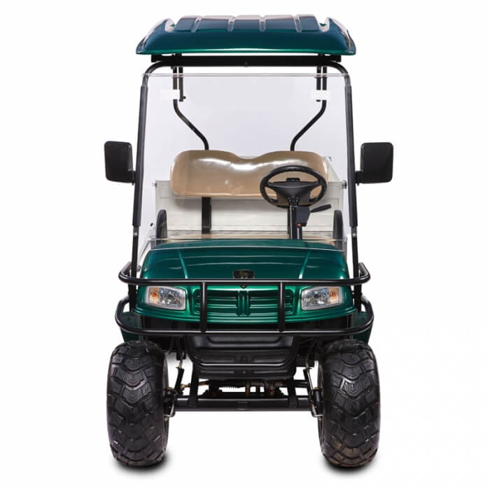 DH FLATBED 2-Seater Flatbed Utility Cart2