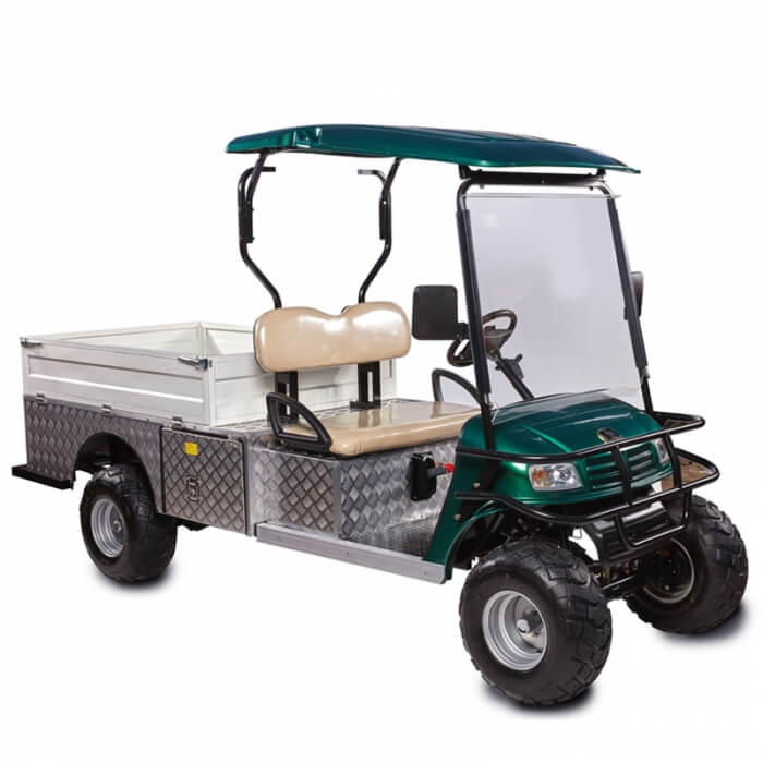 DH FLATBED 2-Seater Flatbed Utility Cart3