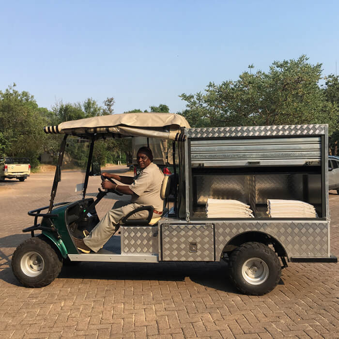 Laundry Cart For Commercial Use - Marshell SA
