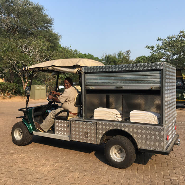 Laundry Cart from Marshell South Africa